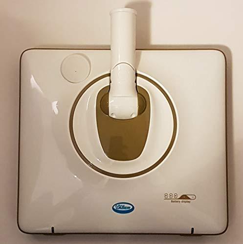Aqua Laser Dual Swing Slimline Bodenreiniger Wischer mit Schwingtechnik Kabellos (Bronze)