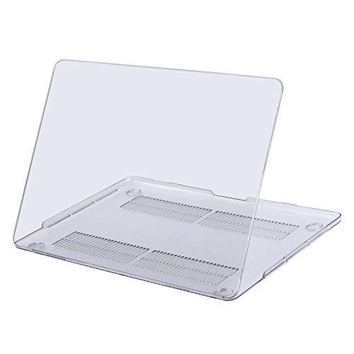 MOSISO MacBook Pro 13 Étui 2017 & 2016 Libération - Ultra Slim Coque Rigide Housse en Plastique Snap pour le Plus Récent MacBook Pro Retina 13 Pouces (A1706 avec Touch Bar et A1708 sans Barre Tactile), Clair