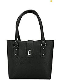 Women's Casual Handbag By Raleigh, Style Shoulder Bag, Elegant & Eye Catching Suitable For Every Occasion(Black)