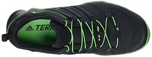 adidas Terrex Swift R, Scarpe da Escursionismo Uomo Nero (Core Black/core Black/energy Green)