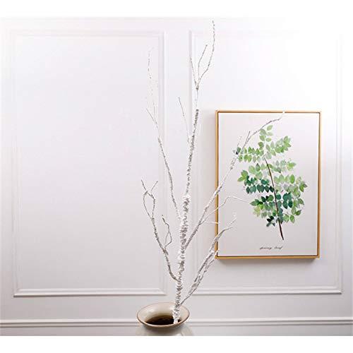 HYLZW Künstliche Blume Topfpflanze 10 Köpfe Schäumen Hohe Simulation Trockene Zweige Blumenarrangement Material Fühlen Zweige Einfache Moderne Blumendekorationen -