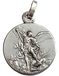 Argent sterling 925Médaille Archange St. Michael