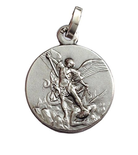 925Sterling Silver St. Michael The Archangel Medal