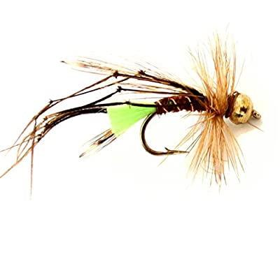brytec 3 x Trout Fly Fishing Flies - Gold Head Daddy long legs sinking - Size 10 Hook from BryTec