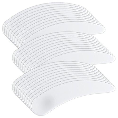 30 Stück Plastikspatel Cremespatel weiss - Spatel für Creme Maske Wachs Gel [1 x 30 Stück]
