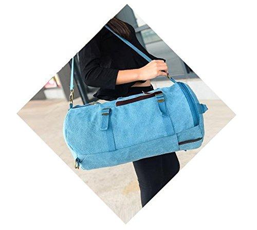Zaino borsa a tracolla da uomo Wewod l'emissione indiscriminata gartenbrause - zaino-spazio-bucket-borse moda Trends Licht khaki 10.63(Zoll)*9.84(Zoll)*17.54(Zoll) - blu
