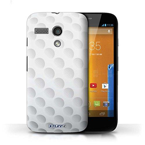 Coque en plastique pour Motorola MOTO G (2013) Collection Balle Sportif - Billard/Pool Golf