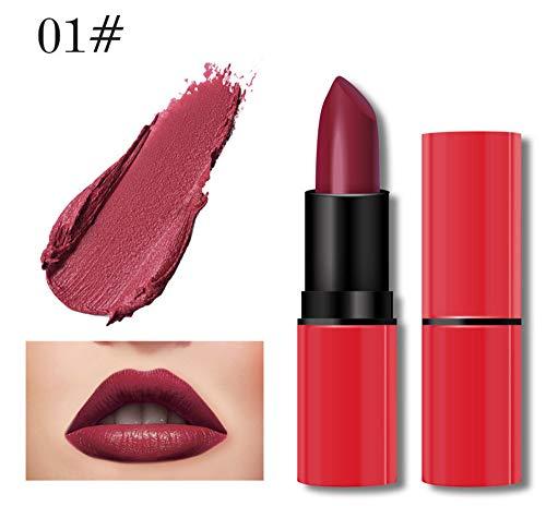 Lipgloss,Rabatt,PorLous 2019 Beliebt 1 STÜCK Neue Mode Wasserdichte Matte Flüssigen Lippenstift Kosmetik Sexy Lipgloss Feuchtigkeitsspendend 1
