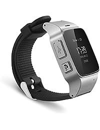 SNHWARE Tracker Montre-bracelet Pour Le Bouton D'appel De Personnes âgées Mobile App PRENEZ Alarme