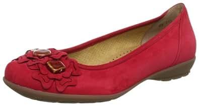 Gabor Shoes 6423015, Damen Ballerinas, Rot (chili), EU 35 (UK 2.5) (US 5)