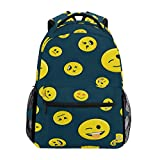 Best Emoji bookbags For Girls - Sac à Dos Backpacks Emoji Smile Student Backpack Review