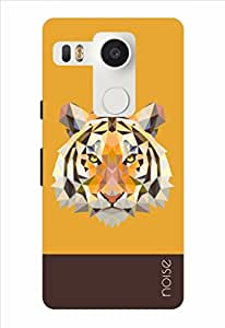 Noise Crystal Tiger Orange Printed Cover for LG Nexus 5X