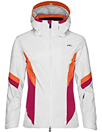 Kjus Laina – Chaqueta de esquí para Mujer, Hombre, Color 10030 White-Persian Red,…