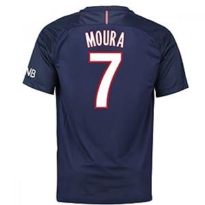 2016-17 PSG Home Shirt (Moura 7)