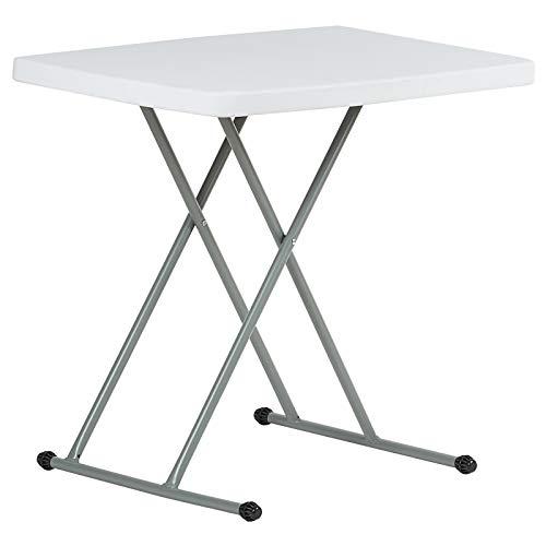 Hartleys Table Pliable 2.5ft Hauteur Réglable - Portable & Facile a Nettoyé