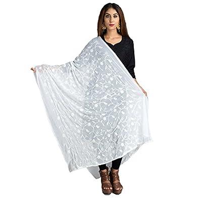 Lionize Women's Chiffon Emboidery Dupatta