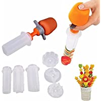 Creative accesorios de cocina para cocinar herramientas frutas de plástico forma cortador Slicer Veggie Food decorativo cortador de frutas