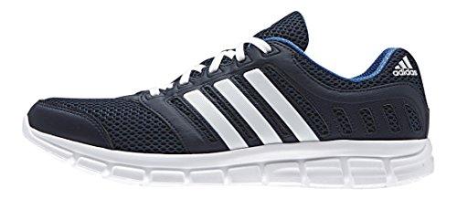 adidas Breeze 101 2, Chaussures de Running Compétition Homme Bleu - Blau (Collegiate Navy/Ftwr White/Eqt Blue)