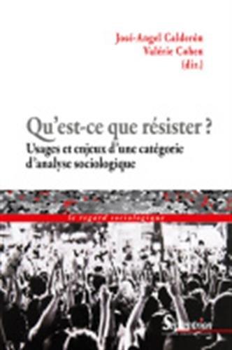 Qu'est-ce que résister ? : Usages et enjeux d'une catégorie d'analyse sociologique