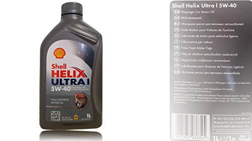 Shell Helix Ultra I 5W-40 - Engine lubricant