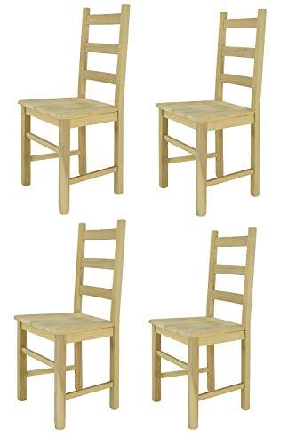 Tommychairs sillas Design - Set 4 sillas clásicas