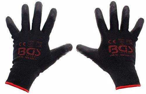 BGS Mechaniker Handschuhe, 11/XXL, 1 Stück, 9956 Dachrinne Handschuh