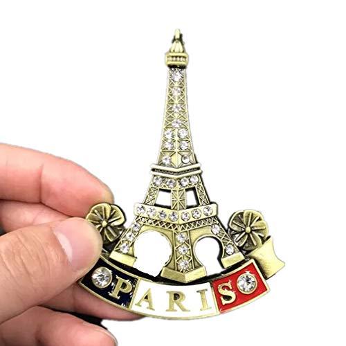 Magnet 3d Eiffelturm Eiffel Tower Paris Denkmal Von Frankreich Erinnerungen E Präsentationsbedarf Büro & Schreibwaren