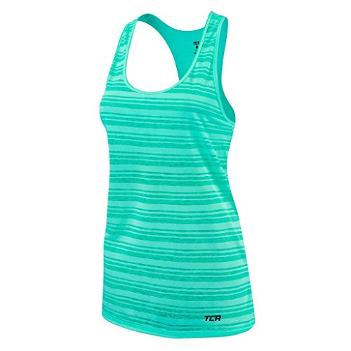 TCA Ultralite - Top sin mangas para mujer ultraligero para running, mujer, color agua, tamaño small