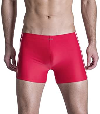 Olaf Benz Men's Swim Trunks, Red - Rot (red 3000), 4 (Gr. S)