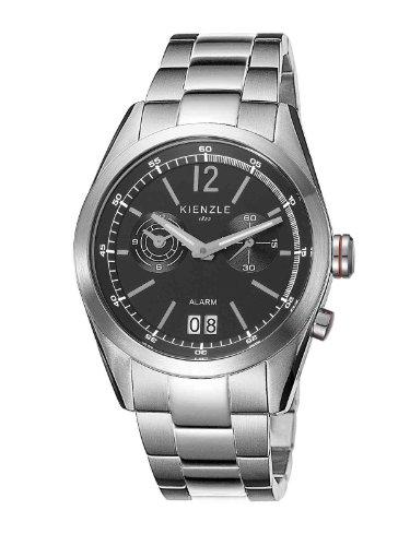 Kienzle - K3071013052-00086 - Montre Homme - Quartz Analogique - Alarme - Bracelet Acier Inoxydable Blanc
