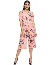 D amor Pink Color Cotton Jumpsuit for Casual   Party wear for Women 29d66f9df