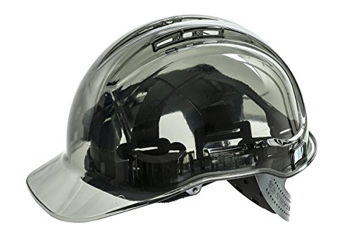 Portwest pv64skr Serie pv64Peak View Ratsche transluzent Hard Hat Helm, Regular,...