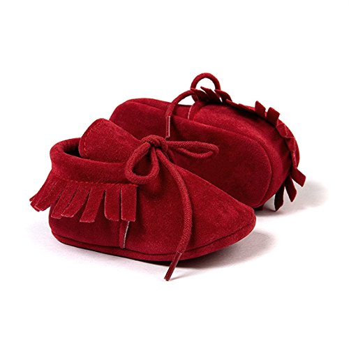 Sokal , Baby Mädchen Lauflernschuhe Bandage Red