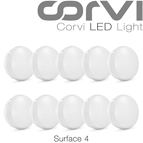 4c68b553c6d Corvi Surface 4 6-Watt LED Panel Light (Pack of 10