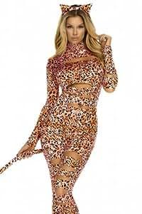 Gabriela Boutique Combinaison 2pièces imprimé léopard Taille 40/42