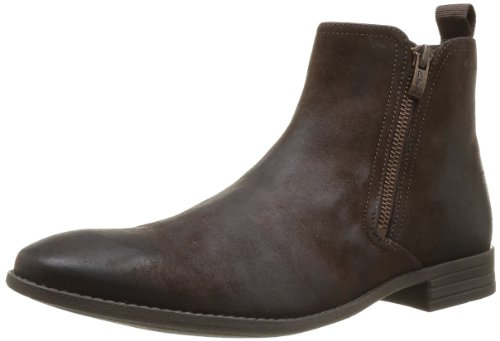 Clarks Chart Zip Herren Stiefel Braun (Marron (Dark Brown))