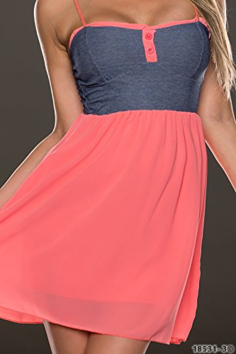 Sexy Minikleid Women's Damen Sommerkleid, ONE SIZE, legerer Schnitt, Gr. 8,  ...