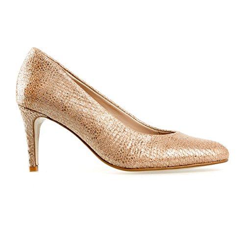 Van Dal Scarpe col Tacco Donna Oro Gold, Oro (Gold), 35.5