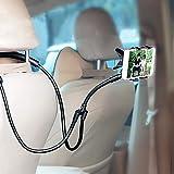 T-MEKA Flexible Handy-Halterung Universal Handyhalter Nacken, fürs Auto Bett Stativ Universal Ständer für Samsung iPhone und Smartphones Handy