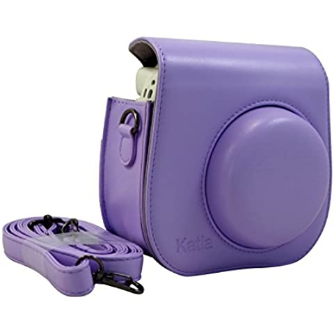 Katia nuevo diseño de cuero PU Fujifilm Instax Mini 8 Caso para Fujifilm Instax Mini 8 Cámara