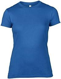 Anvil Women's Basic - Camiseta con manga corta para mujer