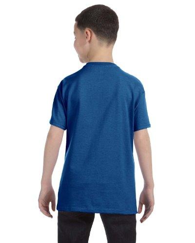 Hanes Authentic Tagless Kids Cotton T-Shirt Deep Royal