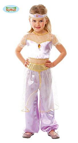 NDERKOSTÜM - BAUCHTÄNZERIN - Größe 122-132 cm (7-9 Jahre), Orient orientalisch Tänzerin Prinzessin Bauchtanz Harems Damen Frauen Scheich (Harem Mädchen Bauchtänzerin Kostüme)