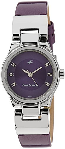 Fastrack Purple Dial Analogue Watch for Women (6114SL03)