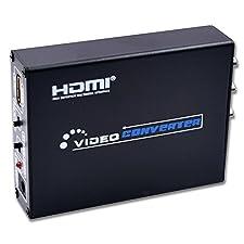 vcando HDMI zu AV + S-Video Konverter