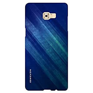 iSweven It Is Blue design printed matte finish back case cover for Samsung Galaxy C7 Pro