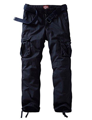Match Herren Cargo hose #3357 6057 Dunkel grau