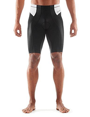 Skins Herren Tri 400 Shorts, Black/White, XS, ZT99360099055XS