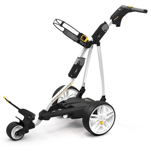 Chariot de golf électrique Powakaddy fw3i avec batterie de...