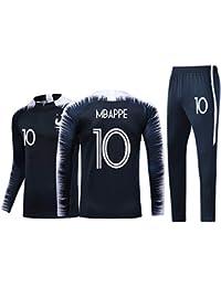 ZWXYA FFF Camiseta de Fútbol Jersey francés 2018 Niños Adultos ...